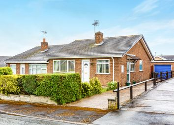 Thumbnail 2 bed semi-detached bungalow for sale in Limestone Close, Woodsetts, Worksop