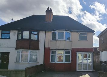 Thumbnail 3 bed semi-detached house to rent in Mervyn Road, Handsworth