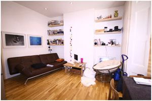 Thumbnail 3 bed flat to rent in Freegrove Road, Holloway