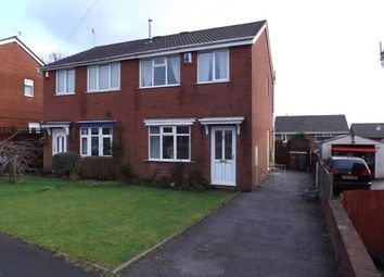 Thumbnail 3 bed semi-detached house for sale in Newmount Road, Stoke-On-Trent, Staffordshire