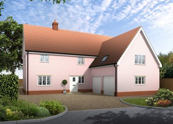 Thumbnail 4 bedroom detached house for sale in Hall Road, Thorndon, Eye
