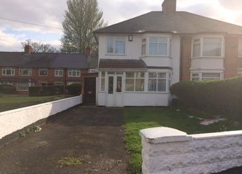 Thumbnail 3 bed semi-detached house to rent in Gipsy Lane, Erdington, Birmingham
