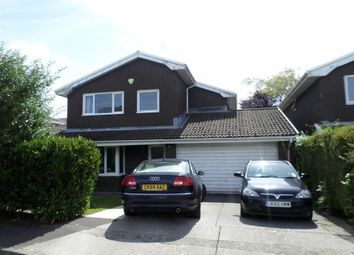 Thumbnail 4 bed detached house for sale in Millfield Close, Swansea
