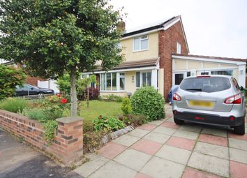 Thumbnail 3 bedroom semi-detached house for sale in Somerset Way, Woolston, Warrington