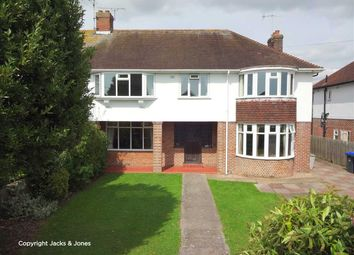 Thumbnail 4 bed semi-detached house for sale in Goring Road, Worthing