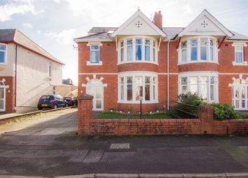 Thumbnail 4 bed semi-detached house for sale in St Johns Crescent, Whitchurch, Cardiff