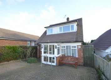 Thumbnail 3 bed detached house for sale in Haslam Crescent, Bexhill-On-Sea