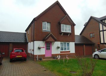 Thumbnail 3 bed detached house to rent in Kings Chase, Willesborough, Ashford
