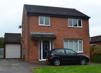 Thumbnail 3 bed detached house to rent in Banbury Close, Northampton