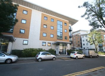 Thumbnail 1 bed flat to rent in Fishguard Way, London