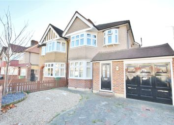 Thumbnail 3 bed semi-detached house for sale in Jubilee Avenue, Whitton, Twickenham