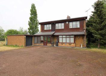 Thumbnail 3 bed detached house for sale in Burton Road, Eggington, Egginton Derby