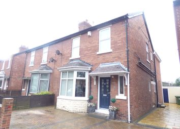 Thumbnail 3 bed semi-detached house for sale in Stakeford Road, Bedlington