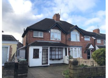Thumbnail 3 bed semi-detached house to rent in Hawthorne Road, Walsall