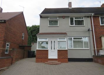 Thumbnail 3 bed semi-detached house for sale in Langdale Road, Great Barr, Birmingham