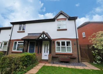Thumbnail 3 bed end terrace house for sale in Meadow Close, Compton, Newbury
