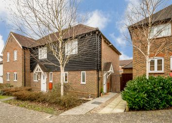 Thumbnail 2 bed end terrace house for sale in Greyhound Chase, Singleton, Ashford