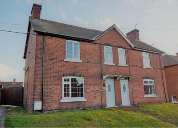 Thumbnail 3 bed semi-detached house for sale in Walesby Lane, New Ollerton, Newark