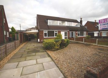 Thumbnail 2 bedroom semi-detached house to rent in Harrison Crescent, Blackrod, Bolton