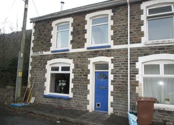 Thumbnail 3 bed end terrace house for sale in Coronation Place, Pontywaun, Crosskeys, Newport.