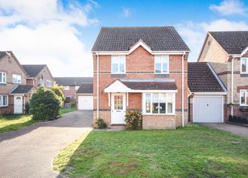 Thumbnail 3 bed detached house for sale in Mallow Road, Thetford