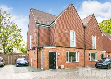 Thumbnail 3 bed semi-detached house for sale in Spring Gardens, Burdett Road, Tunbridge Wells