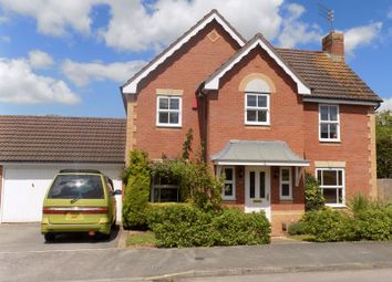 Thumbnail 4 bed detached house for sale in Cranborne Chase, Swindon