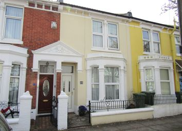 Thumbnail 3 bed terraced house for sale in Collins Road, Southsea, Hampshire