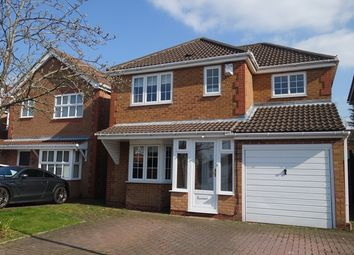 Thumbnail 4 bed detached house to rent in Utah Close, Glenfield, Leicester.