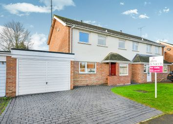 Thumbnail 4 bedroom semi-detached house for sale in Charlbury Road, Shrivenham, Swindon