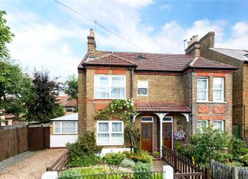 Thumbnail 4 bed semi-detached house for sale in Manor Road, Walton-On-Thames, Surrey