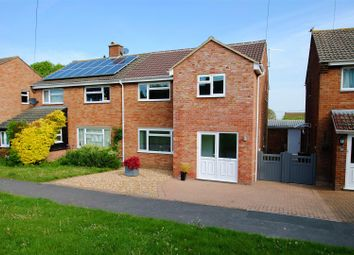 Thumbnail 3 bed semi-detached house for sale in Larkdown, Wantage