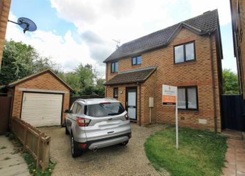 Thumbnail 3 bed detached house for sale in Rayleigh Close, Shenley Church End, Milton Keynes