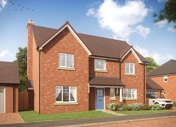 Thumbnail 4 bedroom detached house for sale in Earls' Keep, Off Walton Road, High Ercall, Shropshire