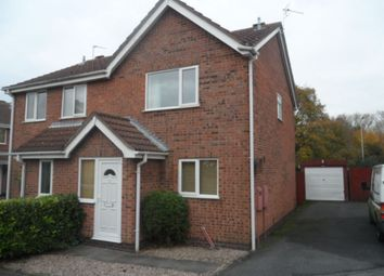Thumbnail 2 bed semi-detached house to rent in Partridge Close, Syston