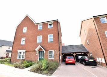 Thumbnail 4 bed town house to rent in Mercer Avenue, Ebbsfleet Valley, Swanscombe