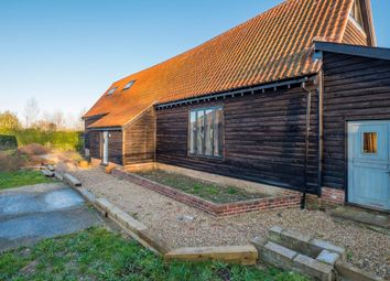 Thumbnail 4 bed barn conversion for sale in Hawstead, Bury St Edmunds, Suffolk