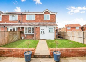 Thumbnail 2 bed end terrace house for sale in Cromwell Park Place, Cheriton, Folkestone, Kent