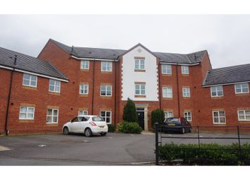 Thumbnail 2 bedroom flat for sale in Merlin Court, Crewe