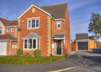 Thumbnail 4 bed detached house for sale in Penrith Court, Bedlington