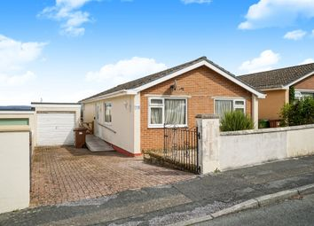 Thumbnail 3 bed detached bungalow for sale in Sharrose Road, Plymouth