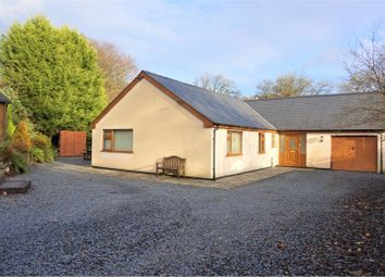 Thumbnail 3 bed detached bungalow for sale in Llandderfel, Bala