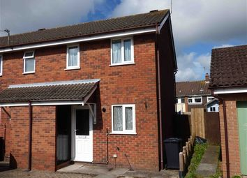 Thumbnail 2 bed end terrace house for sale in The Oak Field, Cinderford