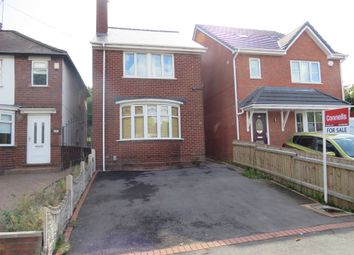 Thumbnail 3 bedroom detached house for sale in Manor House Road, Wednesbury