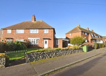 Thumbnail 3 bed semi-detached house for sale in Biggins Wood Road, Folkestone