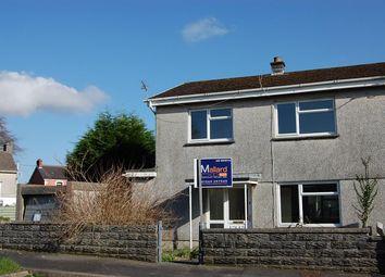 Thumbnail 3 bed semi-detached house for sale in Ger-Yr-Afon, Glanamman, Ammanford