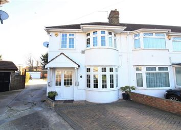 Thumbnail 3 bed end terrace house for sale in Meadowbank Gardens, Cranford
