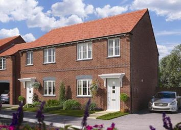 Thumbnail 3 bedroom semi-detached house for sale in Broadleaf, Moira Road, Ashby De La Zouch, Leicestershire