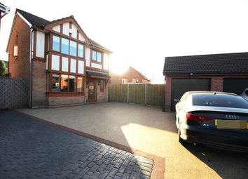 Thumbnail 3 bed detached house for sale in Moxon Way, Ashton-In-Makerfield, Wigan