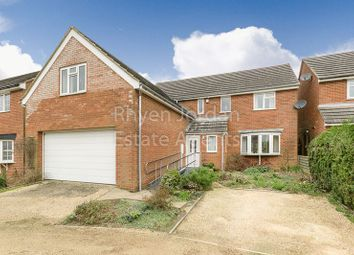 Thumbnail 5 bedroom detached house for sale in The Slade, Newton Longville, Milton Keynes